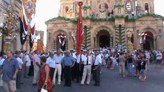 MALTA - Siggiewi: Feast of St Nicholas 2012 - Exit of Procession