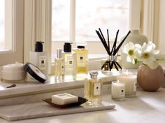 Decorating the home with Jo Malone products