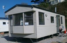 6 Berth caravan for hire at Challaborough Bay Holiday Park, South Devon with access to private dog friendly beach.