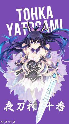 Tohka Yatogami ~ Date A Live Kawaii Anime Girl, Anime Girl Cute, Wallpaper Animes, Animes Wallpapers, Phone Wallpapers, Date A Live, Anime Character Names, Ahegao Manga, Anime Shop