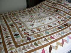 Still working on my antique quilt, which I want to finish this year