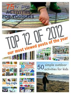 Top 12 of 2012 - No Time For Flash Cards most popular posts from 2012. { There was a definite trend!}