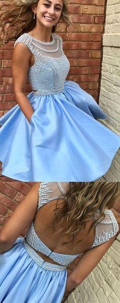 Prom Dresses 2018 #PromDresses2018, Prom Dresses Short #PromDressesShort