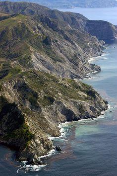 North end of Catalina Island, CA