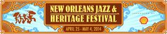 Jazz Fest Line Up: Clapton, Springsteen, Santana, John Fogerty, Boz Scaggs, etc.