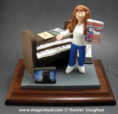 Custom Gift for Sisters Birthday www.magicmud.com 1 800 231 9814 creating a custom made gift figurine for Mother based on the things she likes to do! ...incorporating her work, sports, family, hobbies, food, drink, shopping, etc. $225 #mom #mother #momsgift #wife #christmas #birthday #anniversary #custom #personalized #xmas #present #award #ChristmasGift #BirthdayGift #sister #girlfriend #aunt #BFF #physicaltherapist