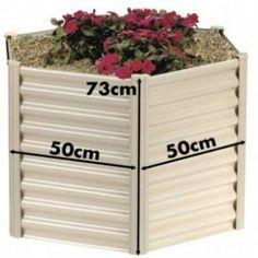 Hexies Hexagonal Raised Garden Bed SML 50cm WIDTH X 73cm... review at Kaboodle