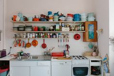 I honestly want the kitchen to look like this! (Journal | Sleepy Jones)