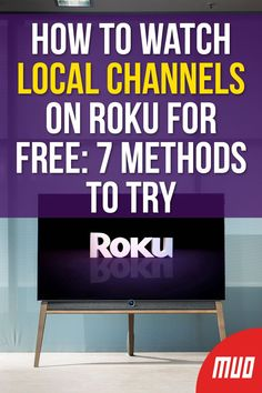 How to Watch Local Channels on Roku for Free: 7 Methods to Try --- If you have cut the cord and bought a Roku device, you can still access your local TV networks. Here's how to watch local channels on Roku for free! Free Tv Channels, Live Channels, Computer Basics, Computer Help, Tv Without Cable, Cable Tv Alternatives, Free Tv And Movies, Tv Hacks, Tv Options