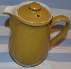 Denby Stoneware Coffee Pot large coffee pot by Denby