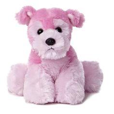 """8"""" Aurora Plush Pink Puppy Dog Mini Flopsie Stuffed Animal Toy 31333 #Aurora"""