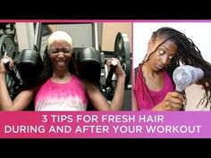 3 Tips for Fresh Clean Locs During & After Your Workout - I hit the gym anywhere from 3 to 5 days a week, but there's no possible way I could wash my waist length locs after every workout. So here are 3 tips that help keep my locs fresh and clean and avoid that post workout funky smell.