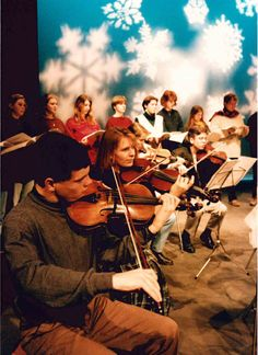 The 'Frost Scene;' lunchtime concert at The Gulbenkian Theatre - anyone tell us the year ?