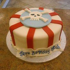 Pirate fondant cake | Yelp