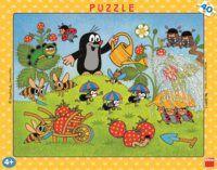 Puzzle Krtek a jahody 40 dílků