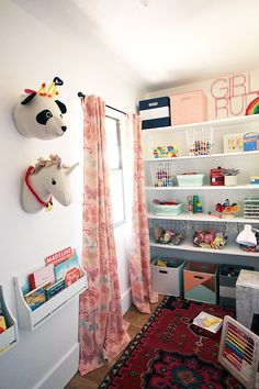 "Remember that little closet in our playroom? I've been meaning to tackle the space for a couple of years now. It had become this sort of catch-all space that made it easy for the girls to ""clean up"" the playroom, but it also felt sort of pointless from an organizational standpoint. They would throw all …"