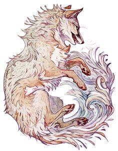 Animal Sketches, Animal Drawings, Art Sketches, Beautiful Drawings, Cute Drawings, Pretty Art, Cute Art, Fox Art, Pics Art