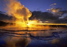 Yellowstone: Geothermic wonderland
