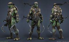 Making of Ninja Turtle by Adam Sacco