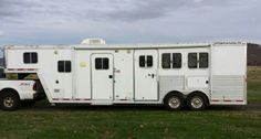 2005 Featherlite 3 Horse, GN, LQ Horse Trailer for sale by owner on Heavy Equipment Registry  http://www.heavyequipmentregistry.com/heavy-equipment/16136.htm
