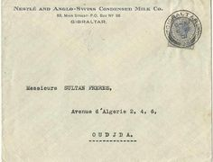 Una dulce carta comercial... de la colección Fernando Martínez