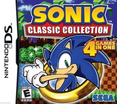 Sonic Classic Collection  Nintendo DS DSI 2DS 3DS Sonic the Hedgehog COMPLETE
