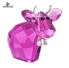 Swarovski Crystal Figurine MINI MO INTENSE FUCHSIA Limited Edition 2015 #5125952