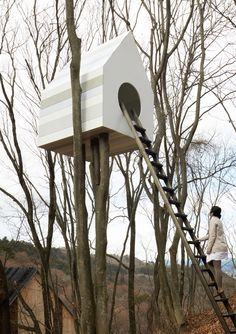 Bird house for humans. By Nendo.