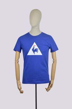 84f21d9f9aa6 Le Coq Sportif ESS SP T-Shirt - Blue Streetwear Brands