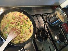 Aan het koken.