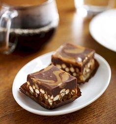 salted caramel sweet squares