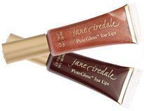 Jane Iredale PureGlossTM for Lips (Color: Iced Mocha) by Jane Iredale. $15.99. All of our PureGlosses are formulated in a base of organic vegetable oils. Plumps without chemicals. Only the highest quality natural ingredients used to provide staying power, moisture and nourishment to the lips. For lips that speak louder, try the ultimate lip gloss - shiny, soothing, protective, and, of course, super sexy! Our tingly mint and ginger flavor plumps without chemicals. In a base of o...