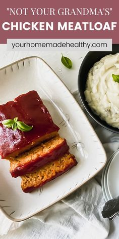 This is not your grandma's average meatloaf recipe! Healthy chicken meatloaf with hidden veggies is an excellent dinner to serve your entire family. It utilizes fresh and healthy ingredients, so you know your family will be eating a delicious, yet nutritious meal. You can easily substitute the ground chicken for ground turkey. With the added vegetables, it stays soft and moist with the best punch of flavor. Ground Chicken Meatloaf, Ground Chicken Recipes, Healthy Chicken Recipes, Healthy Dinner Recipes, Hidden Veggies, Meatloaf Recipes, Ground Turkey, Nutritious Meals, Quick Easy Meals