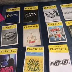 Everything here is for sale  currently taking offers for anything if there are any questions you can comment or dm me! Thanks . . .  #hamilton #broadway #musicals #musical #music #playbills #linmanuelmiranda #intheheights #bringiton #andykarl #dearevanhansen #lesmis #wicked #groundhogday #greatcomet #waitress #signed #misssaigon #bandstand #falsettos #bigfish #brandonuranowitz #charlieandthechocolatefactory #newsies #onyourfeet #americaninparis #bookofmormon #shrek #hellodolly #bandstand…