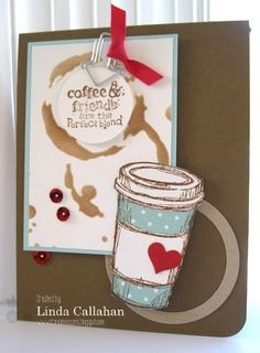 Stampin' Seasons: Coffee and Friends