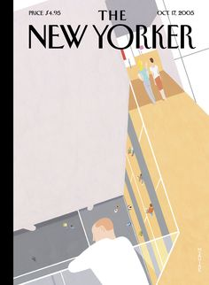 "The New Yorker - Monday, October 17, 2005 - Issue # 4140 - Vol. 81 - N° 32 - « The Art & Architecture Issue » - Cover ""Modern Art"" by Richard McGuire"
