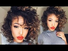 Overnight HEATLESS Curls | Short Hair - YouTube