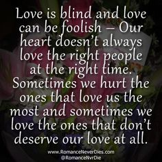 Love is Blind Quotes Don't give up on me Lisa.... Please!!!