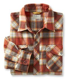 #LLBean: Overland Performance Flannel Shirt