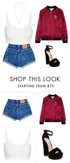 """""""Untitled #1434"""" by telletubbies ❤ liked on Polyvore featuring Opening Ceremony, Helmut Lang, Steve Madden and Witchery"""