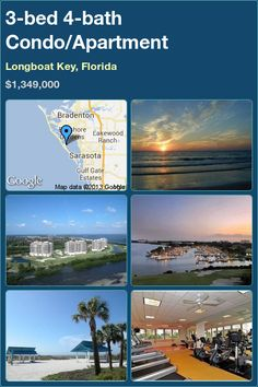 3-bed 4-bath Condo in Longboat Key, Florida ►$1,349,000 #PropertyForSale #RealEstate #Florida http://florida-magic.com/properties/3511-condo-for-sale-in-longboat-key-florida-with-3-bedroom-4-bathroom