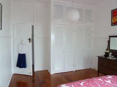 Old Closet Doors Built Ins 54 Ideas Diy Built In Wardrobes, Bedroom Built In Wardrobe, Wardrobe Furniture, White Wardrobe, Master Bedroom Closet, Wardrobe Doors, Wardrobe Closet, Bedroom Doors, Diy Bedroom
