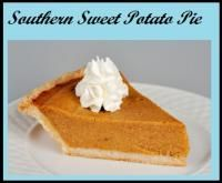 Southern Sweet Potato Pie on MyRecipeMagic.com This pie was delicious! I tried this recipe and it was the best sweet potato pie I have ever made. This is definitely a recipe to keep.