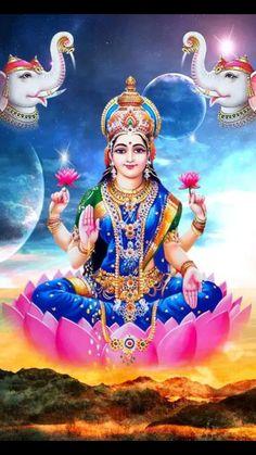Lakshmi is also an important deity in Jainism and found in Jain temples Lakshmi hindu art Lakshmi wealth Lakshmi goddesses Lakshmi haram Lakshmi tanjore painting Lakshmi vaddanam Lakshmi bangle Lakshmi decoration Lakshmi necklace Hare Krishna, Krishna Hindu, Hindu Deities, Saraswati Goddess, Indian Goddess, Goddess Lakshmi, Lakshmi Photos, Lakshmi Images, Shiva Photos