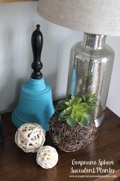 DIY Grapevine Sphere