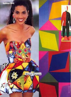 'Fashion 1991' from…………Vogue January 1991 feat Linda Evangelista, Christy Turlington, Stephanie Roberts, Beverly Peele, Gurmit, Nadege du Bospertus, Josie Borain, Cindy Crawford & Unknown models