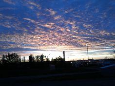 the sky of alberta