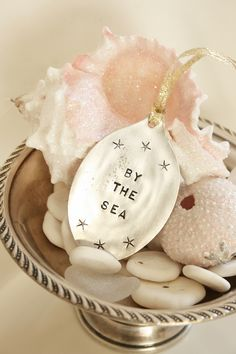 By The Sea~cute idea for ornaments! http://beachhouseliving.blogspot.com/