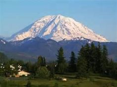 Mt. Rainer WA.....love to see this image each day.  It is awesome and majestic!