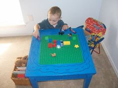 This Ole Mom: LEGO / DUPLO/ CAR TABLE